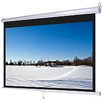 "Pantalla de proyección Globalscreen Basic 120"" manual 2,65x1,50m para Proyector"