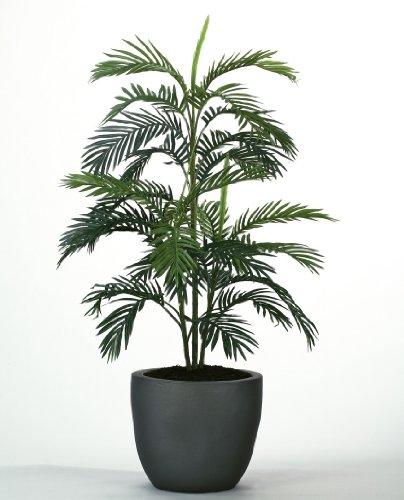 Kunstpflanze Areca-Palme im Tontopf