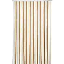 Cortinas de tiras «Sylt» (marrón/beis) Brema 100