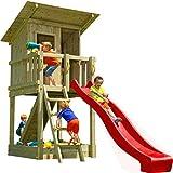 Blue Rabbit Spielturm Beach Hut mit Rutsche