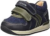 Geox B RISHON Boy A, Botines de Senderismo para Bebés, Azul (Navy/Dk Green C4428), 20 EU