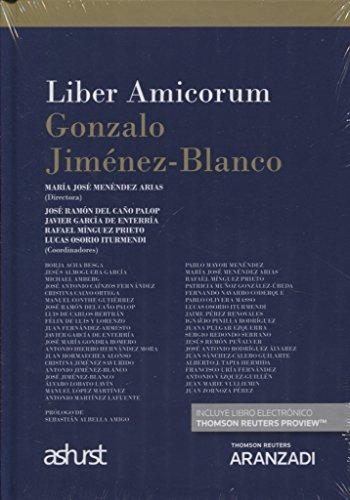 Liber Amicorum Gonzalo Jiménez-Blanco (Papel + e-book) (Monografía)