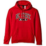 NCAA North Carolina State Wolfpack Mens Arched Heat Team Issue Fleece Pullover Hoodarched Heat Team Issue Fleece Pullover Hood, Power Red, Large