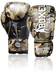 Boxeur Des Rues BXT-5146 - Guantes de boxeo, Camouflage, 10OZ