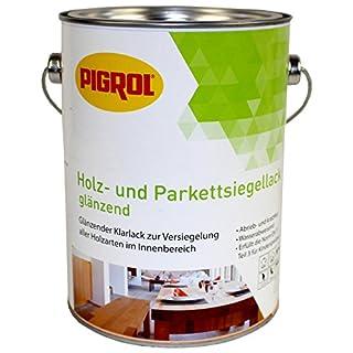 Pigrol Holz- und Parkettsiegellack 2,5L glänzend Klarlack für den Innenbereich