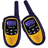 Retevis RT31 Mini Kids Walkie Talkie 8 Channel LCD Display 2 Way Radio (Blue, 1 Pair)