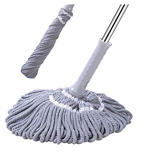 ChenYi 360 ° Drehbarer Mopp, Handwaschbarer Mopp for Den Haushalt, Fauler Nass- Und Trockenreinigungsmopp Mit Push-Pull-Funktion -