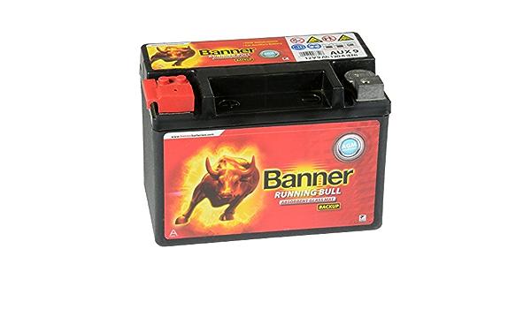 Banner Running Bull Agm Backup Aux09 12v 9ah Stützbatterie Neu Auto