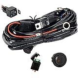 Eyourlife EU300SWITCH_FBA 300W Faisceau Electrique avec Relais et Interrupteur 12V 40A pour Rampe Barre Phare Projecteur LED SUV ATV et Camion Tout-terrain