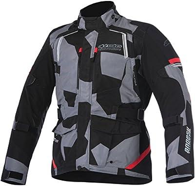 Alpinestars–cazadora moto–alpinestars Andes V2Drystar negro Camo Rojo