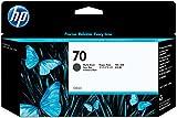 HP 70 Cartouche d'encre d'origine Vivera Noir Mate 130 ml