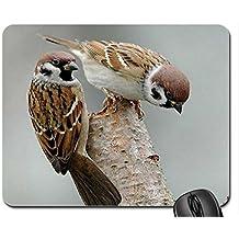 Sperlinge. Mauspad, Mousepad (Birds Maus Pad)