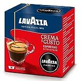 Lavazza A Modo Mio Crema e Gusto, Kaffee, Kaffeekapseln, Gemahlener Röstkaffee, 16 Kapseln