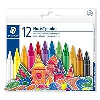 STAEDTLER Jumbo Crayons (Pack of 12)