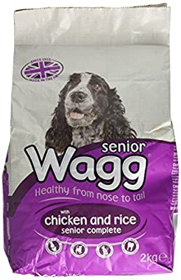 Wagg Dog Food Complete Senior Dry Mix 2 kg (Pack of 6) by SPIG9
