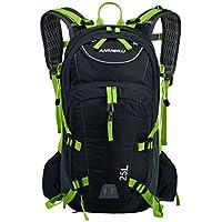 Lixada 25L Fahrradrucksack für Reisen Bergsteigen Wasserabweisend mit Regen Abdeckung