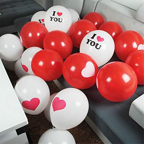 Festliche Laterne Dekoration Licht String Blitzlicht String Licht Dekoration Romantische Hochzeit Ballon Brief Ballon Paket Lufteinlass, E