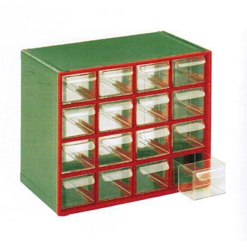 Cassettiera Monoblocco 'T' In Plastica Ad Alta Resistenza. Dotata Di Cassetti Estraibili Trasparenti. Dimensioni: Lxpxh.