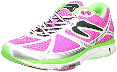 Newton Running Women's Kismet II Stability Training Running Shoes, Pink (Pink/White), 4 UK 37 EU