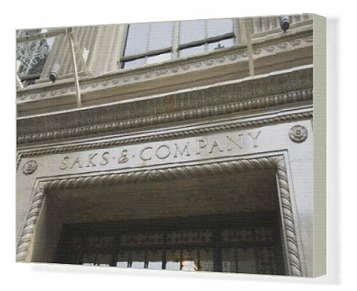 canvas-print-of-saks-fifth-avenue