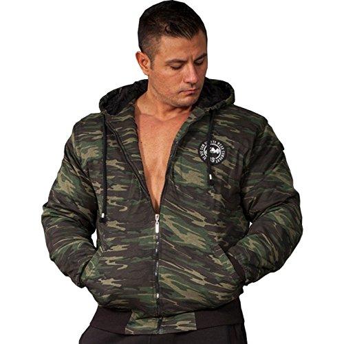 BIG SAM SPORTSWEAR COMPANY Camouflage KAPUZENJACKE Jacke Winterjacke Bomberjacke *4060*