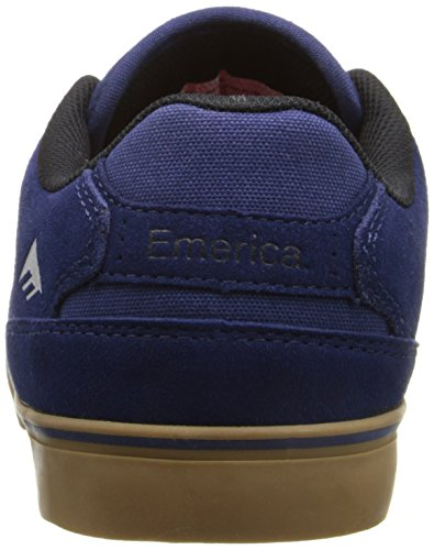 Emerica The Reynolds Low Vulc, Chaussures de skateboard homme Navy Grey Gum