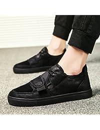 Chaussures homme FEIFEI British Style Fashion confortable résistant à l'usure Souliers (Couleur : Noir, taille : EU43/UK9/CN44)