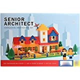 Grab Offers Smart Blocks Senior Architect- Interlocking Architectural Set For Kids.(Multicolor)