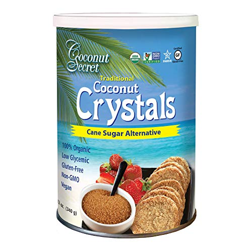 Raw Coconut Crystals, 12 oz (375 g)