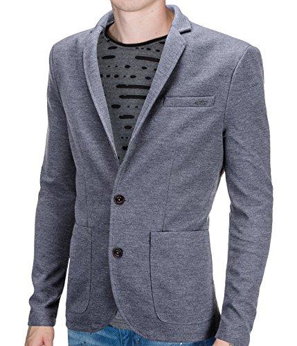 BetterStylz - Blazer - Homme multicolore Mehrfarbig Gris