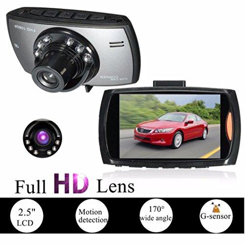 """Voberry Dash Cam, HD 2.5 """"LCD 1080P Auto DVR Fahrzeug Kamera Video Recorder Dash Cam Nachtsicht"""
