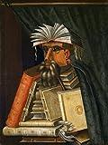 Digitaldruck / Poster Giuseppe Arcimboldo - Der Buchhändler - 110 x 146.3cm - Premiumqualität - Figurativ, Manierismus, Renaissance, Figurativ, Klassiker, Wohnzimmer, Flur - MADE IN GERMANY - ART-GALERIE-SHOPde
