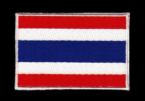 Toppa da cucire applicazione Bandiera THAILANDIA