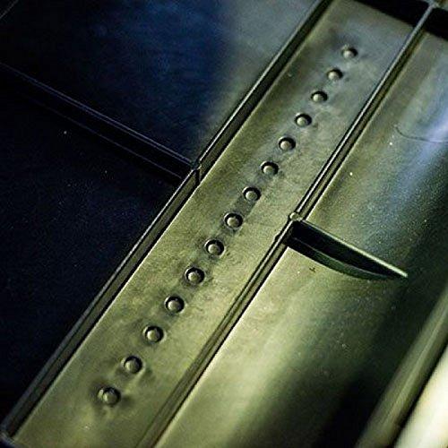 Dachbox VDP-BA320 schwarz Dachkoffer 320 Liter Autokoffer Carbon Look abschließbar - 3