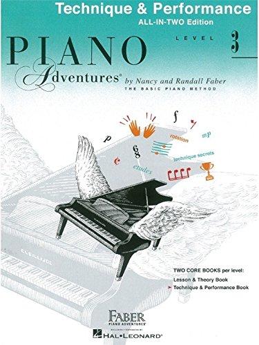 Piano Adventures: Unterrichtsheft 3 - Technik & Performance - Notenblätter
