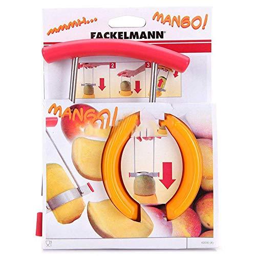 Fackelmann 42016 - Deshuesador de mangos, acero, colores surtidos