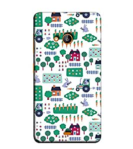 Fuson Designer Back Case Cover for Nokia Lumia 730 Dual SIM :: Nokia Lumia 730 Dual SIM RM-1040 (Designer Pattern Design Art)