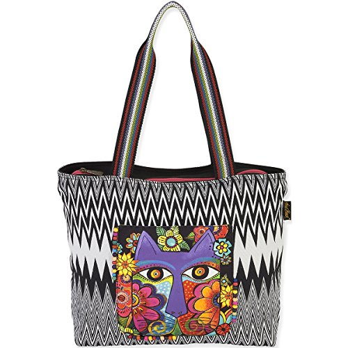 laurel-burch-laurel-burch-borsa-a-tracolla-17-x-13-cm-motivo-speronella-gatti