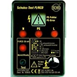 Fluke Schuko-Test Fi/RCD Amprobe 9080 Prüfgerät nach DIN VDE 0100 0095969524018