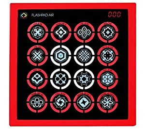 Flash Pad Air Touch - Electronic Handheld Game System (RED)