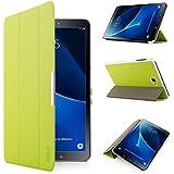 iHarbort® Premium Hülle für Samsung Galaxy Tab A 10.1 (SM-T580/T585) - Samsung Galaxy Tab A 10.1 hülle Etui Schutzhülle Case Cover Holder Stand mit Smart Auto Wake / Sleep-Funktion (Grün)