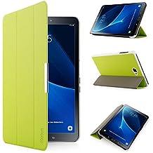 iHarbort® Samsung Galaxy Tab A 10.1 Funda - ultra delgado ligero Funda de piel de cuerpo entero para Samsung Galaxy Tab A 10.1 pulgada (2016 Version SM-T580N SM-T585N) con la función del sueño / despierta (Galaxy Tab A 10.1, verde)