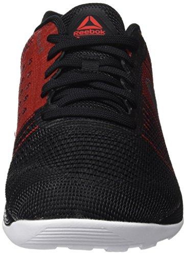 Reebok Crossfit Nano 7, Chaussures De Sport D'intérieur Pour Homme Multicolore (noir / Blanc / Rouge Primal)