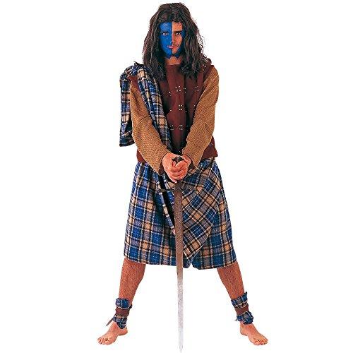 Limit da761TXXL Schottischer Krieger Kostüme (2x - Schottischer Krieger Kostüm