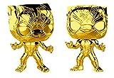 Pop! Marvel Studios 10th - Figura de Colección Black Panther Chrome