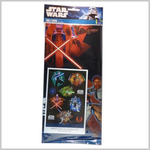 Unbekannt Star Wars The Clone Wars Tischdecke (183 x 138 cm)