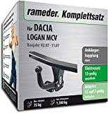 Rameder Komplettsatz, Anhängerkupplung starr + 13pol Elektrik für Dacia Logan MCV (113448-05620-1)