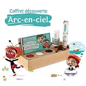namaki CD1 - Cofanetto per travestimenti, per bambini, unisex, colore: Rosso/Bianco/Nero/Argento