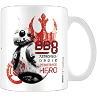 Pyramid International–Póster Star Wars la última Resistencia Hero BB-8Jedi (Producto Oficial, en Caja) de café de cerámica/Taza de té, Papel,, 11x 11x 1,3cm