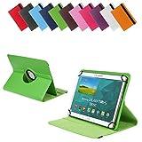 BRALEXX Universal Tablet PC Tasche passend für Acer Iconia A3 A3-A10, 10 Zoll, Grün